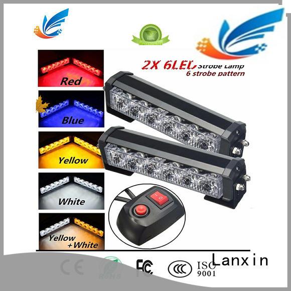 Lanxin led strobe lights factory for bike
