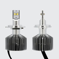 Super bright high and low beam 8000LM CREE motorcycle headlight 6G H4