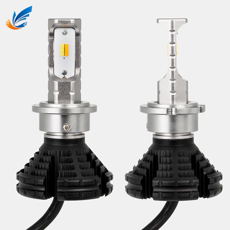 Dual color LED car headlight 3000K/6000k high power D8 D1S