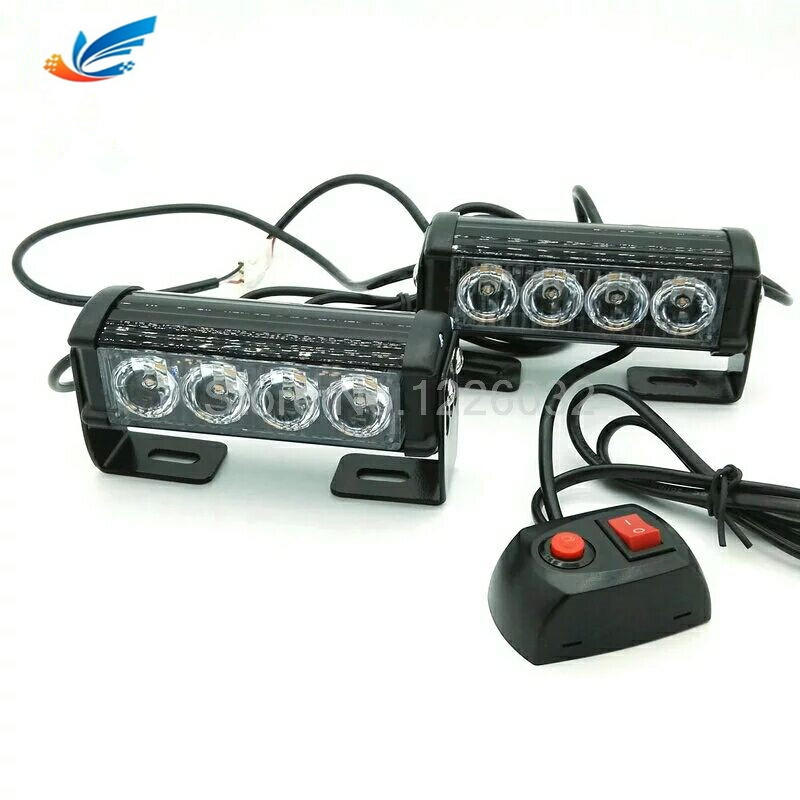 Car truck led strobe light blue yellow S1 24W