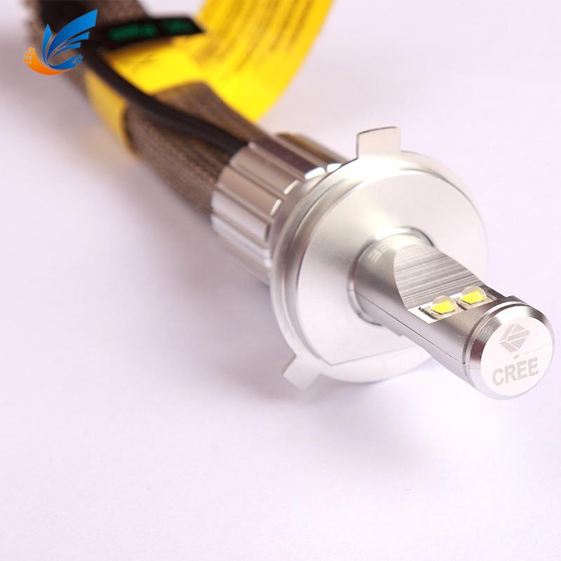 Highest brightness high power car headlight 45W CREE 8000lm V9 H4