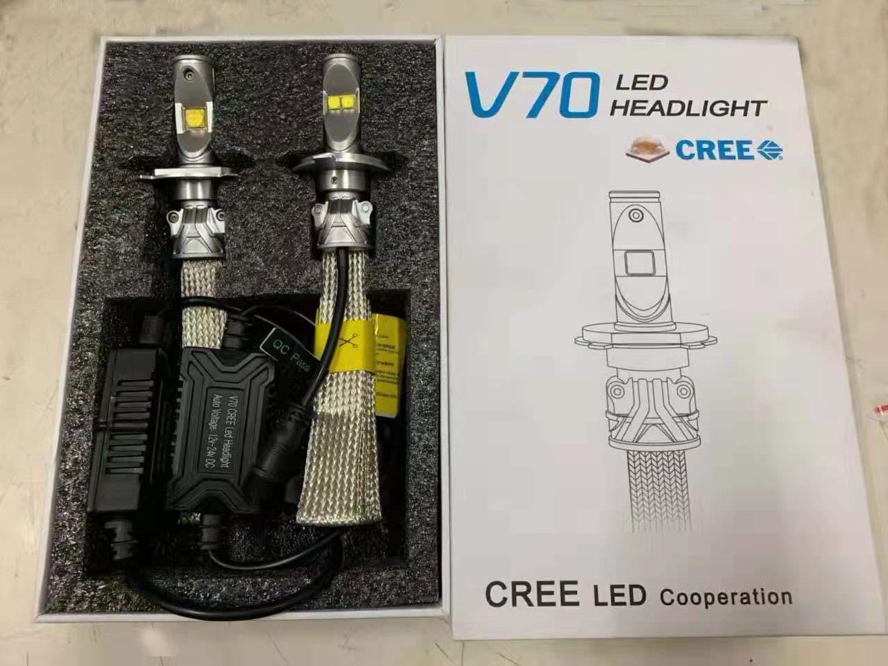 V70 headlight