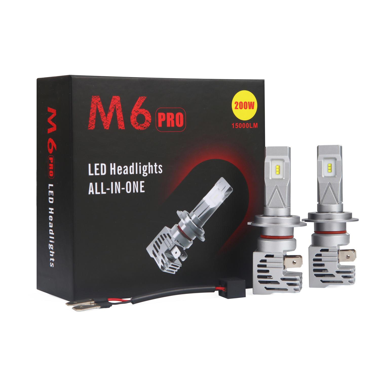 2020 Amazon best sale M6 Mini size super bright auto led headlight