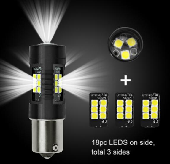 Super bright 360 degree lighting tail light fog light