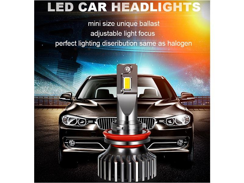 You will see more led lights