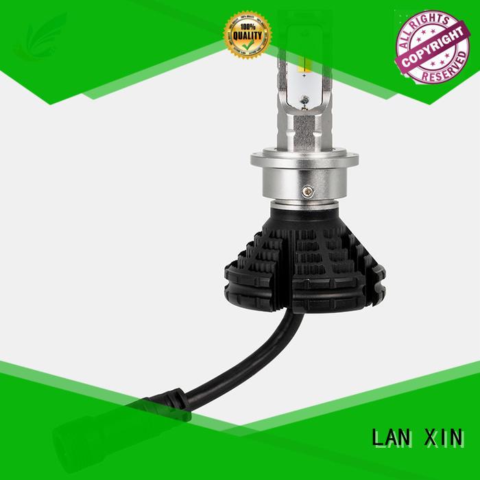 Lanxin white headlights supplier for auto led lighting