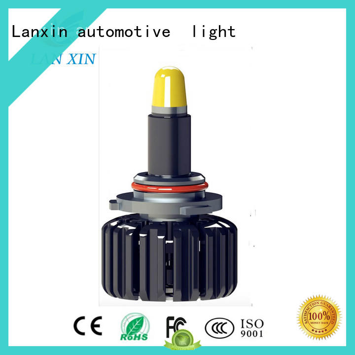 Lanxin automotive light smoked headlights supplier for auto led lights