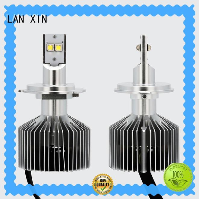 Lanxin automotive light 8000lm motorcycle headlight bulbs supplier for bike