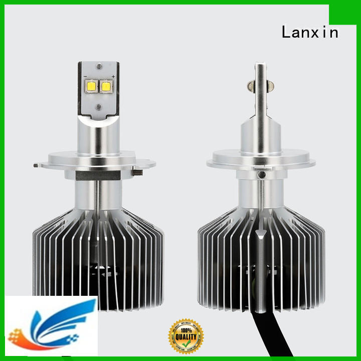 Lanxin universal motorcycle headlight customized for roadster