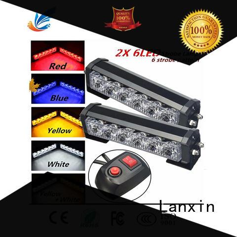 Lanxin super bright strobe lights for trucks customized for scooter