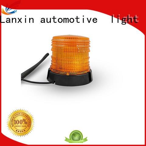 Lanxin automotive light blue strobe flashlight customized for roadster