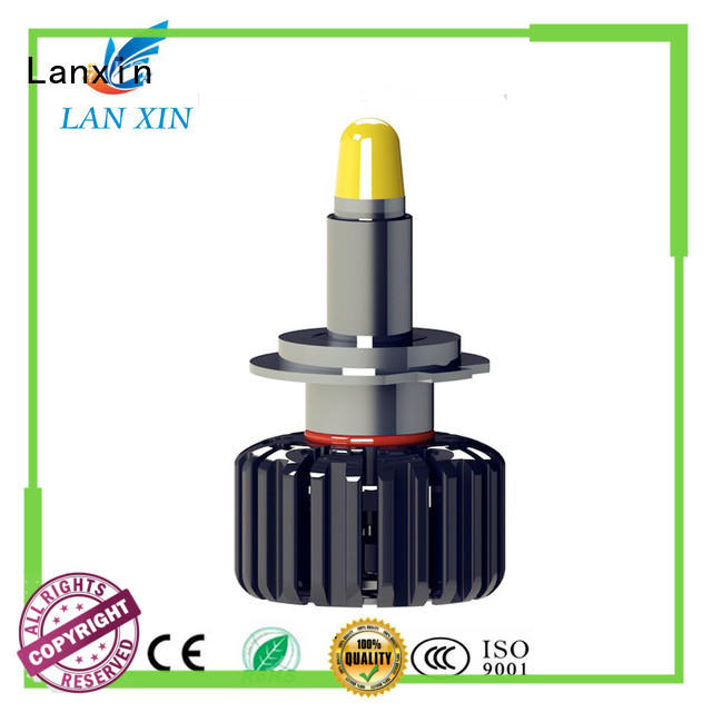 Lanxin hid headlight bulbs manufacturer for auto led lights