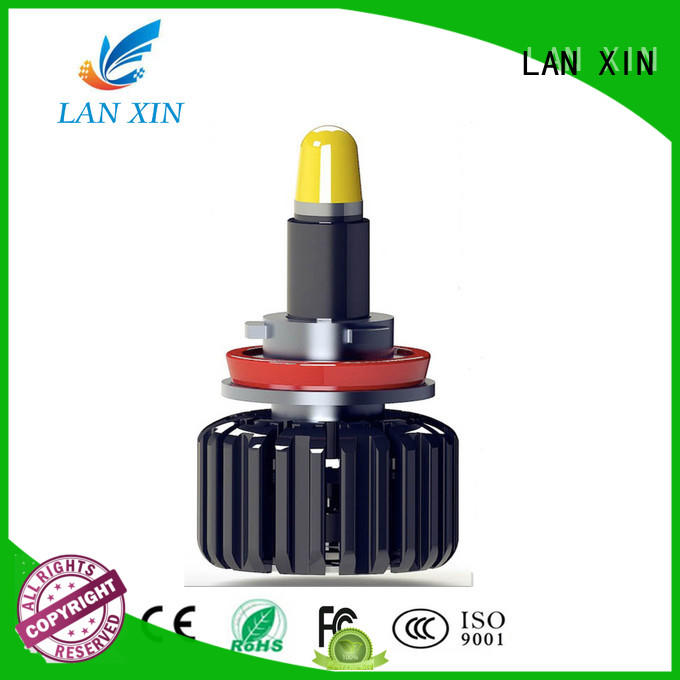 Lanxin unique design led headlight conversion customized for led lighting