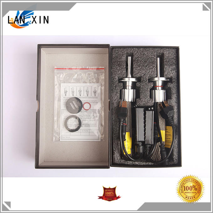 Lanxin h7 headlight bulb CE standard for cruiser