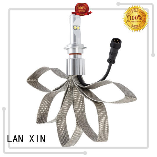 Lanxin h7 headlight bulb CE standard for harley