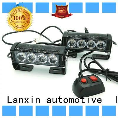 Lanxin automotive light yellow strobe lights for trucks standard for roadster