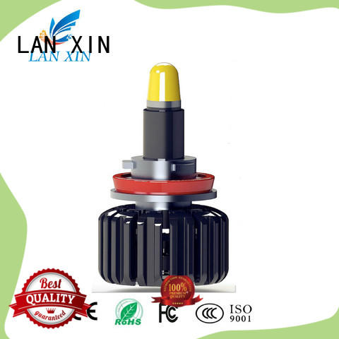 Lanxin automotive light led headlight conversion customized for led lighting