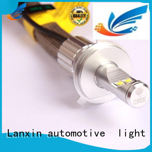 Lanxin automotive light universal motorcycle headlight factory for cruiser
