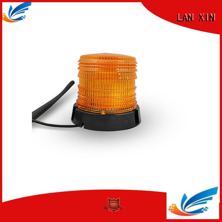 Hot blue strobe lights for cars yellow Lanxin automotive light Brand