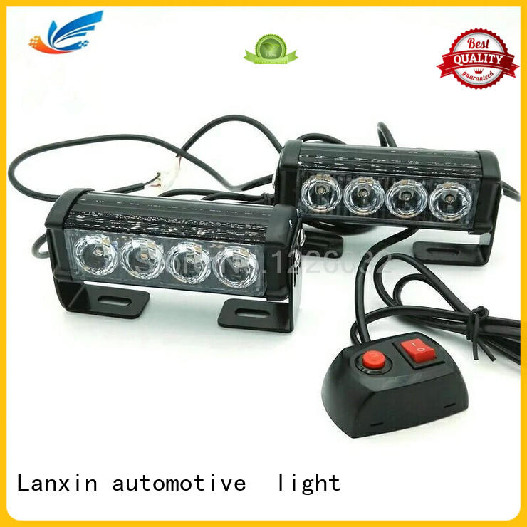 Lanxin automotive light high beam strobe lights for trucks factory for scooter