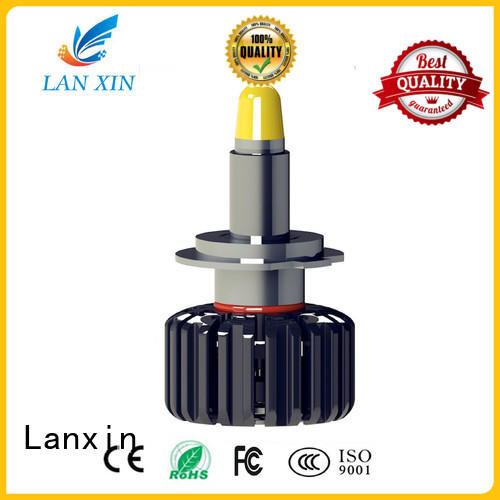 Lanxin stable smoked headlights customized for auto led lighting