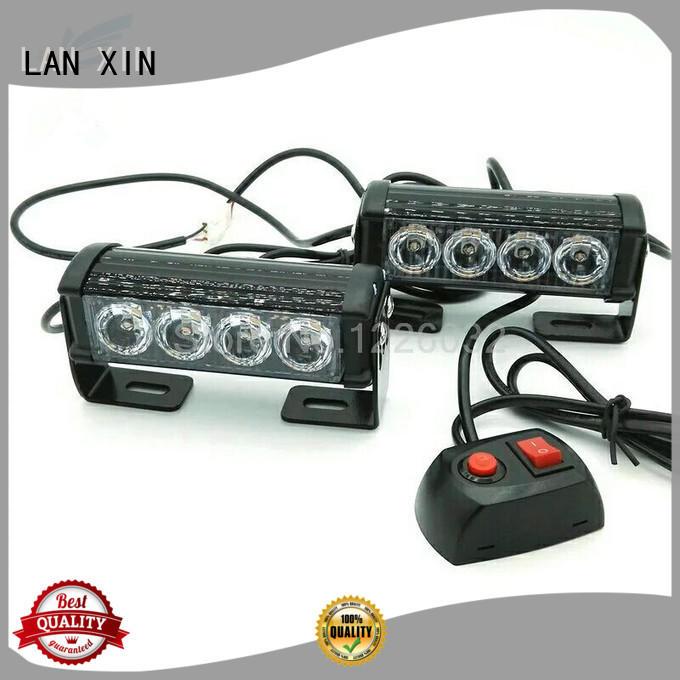 Lanxin automotive light Brand emergency led yellow custom strobe lights for cars