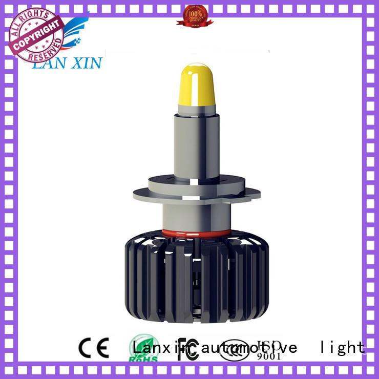 Lanxin automotive light professional led headlight conversion manufacturer for auto led lighting