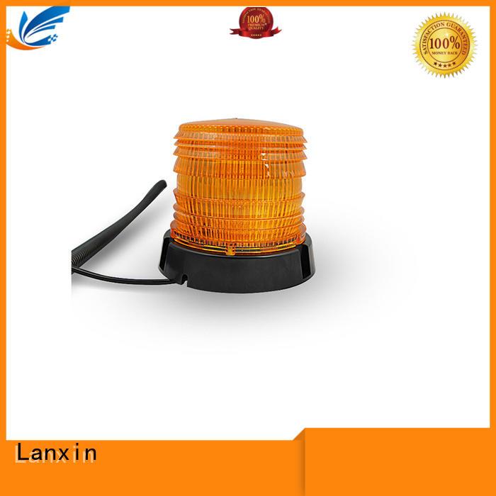 Lanxin low beam strobe flashlight factory for roadster