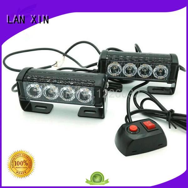 Lanxin automotive light strobe flashlight customized for cruiser