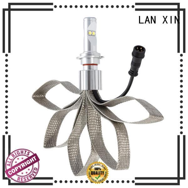 Lanxin automotive light h7 headlight bulb waterproof for cruiser