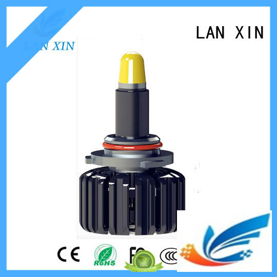Lanxin hid headlight bulbs supplier for auto led lighting