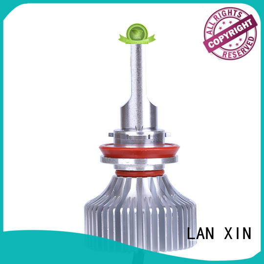 Lanxin automotive light brightest led headlights factory for auto led lighting