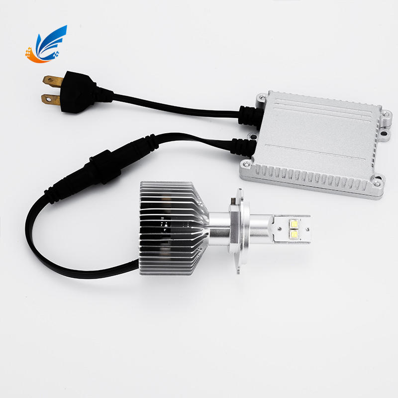 fanless CREE led 45W 8000lm super bright 6G H4