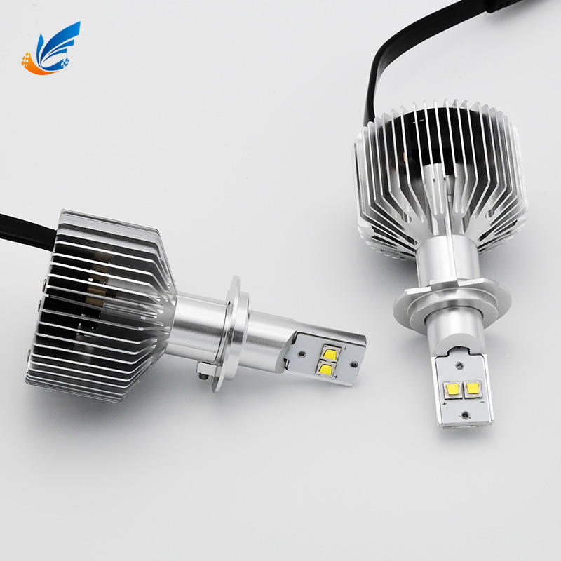 Fanless 6500K 12V auto lamps 6S H7