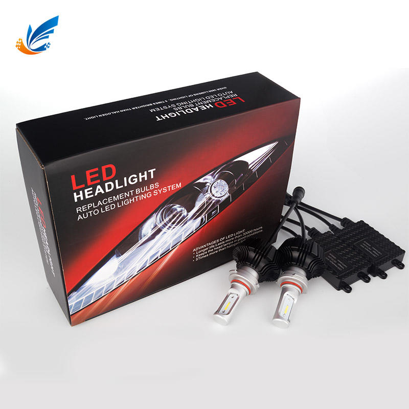 Car led kit IP68 CE ROHS 6000lm 7G 9006