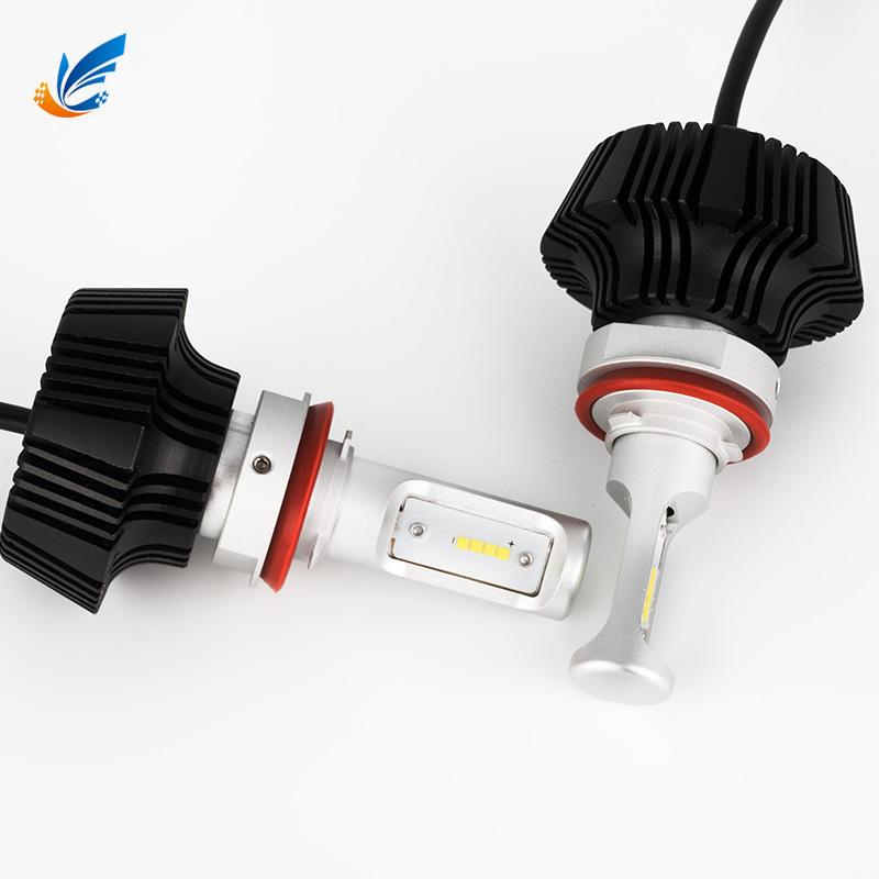 China manufacturer low price car led 12V 6000lm 7G H11