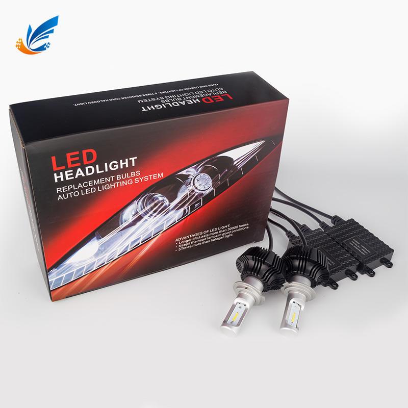Led car head lamp waterproof CE ROHS 7G H7