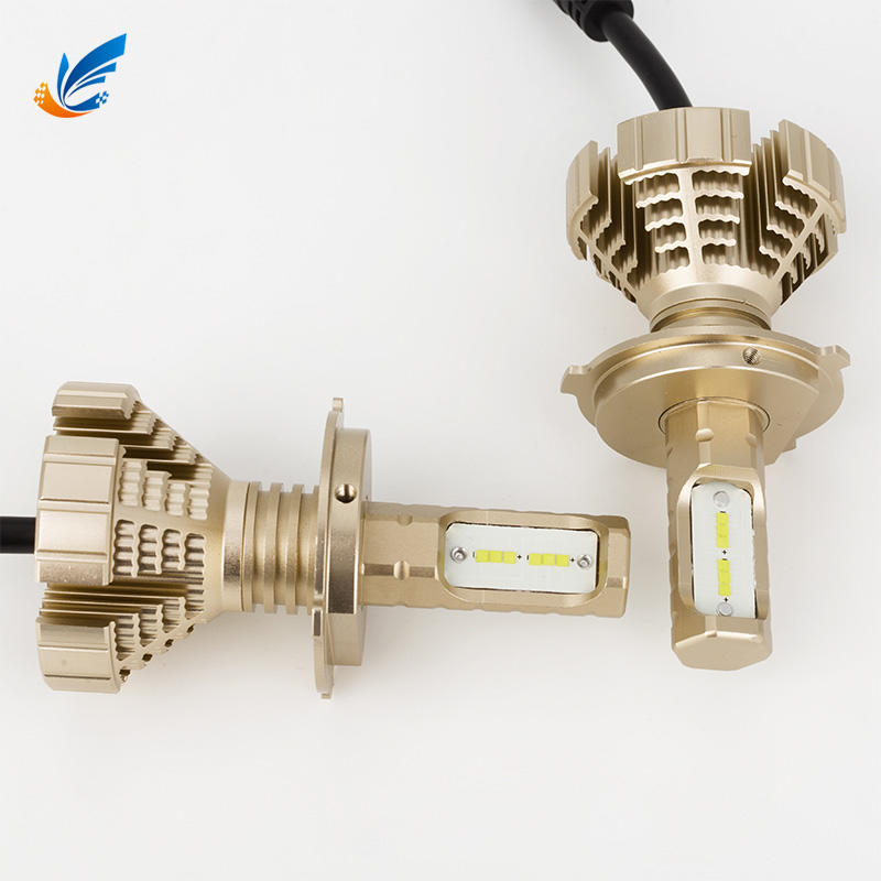 China best selling 8G golden yellow color car headlight 8G H4