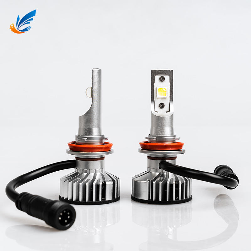 Best auto lens headlight bulbs with 6000LM CREE XHP70 A3 H11