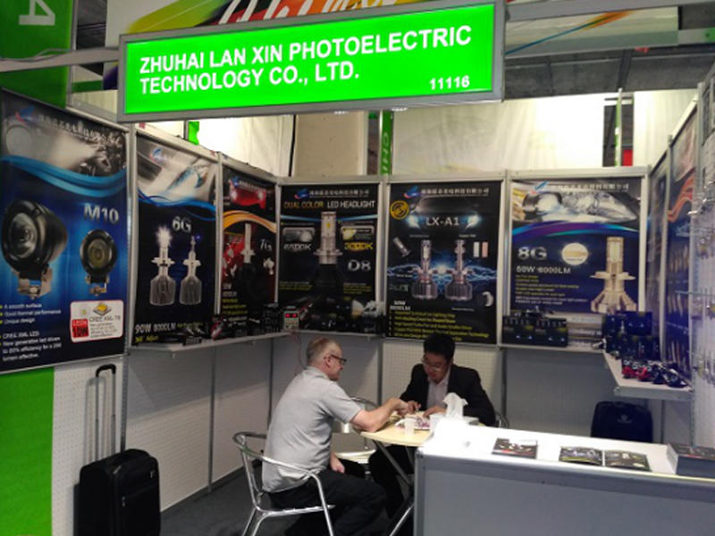 LAN XIN TOP WELCOME IN AAPEX