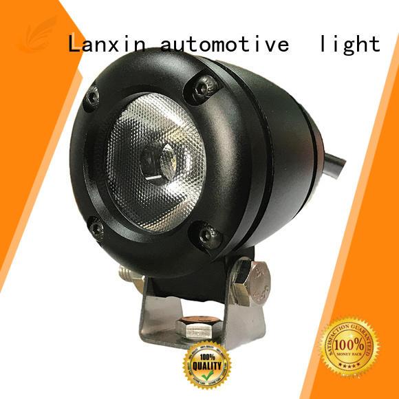 waterproof motorcycle headlight housing manufacturer for autobike Lanxin automotive light
