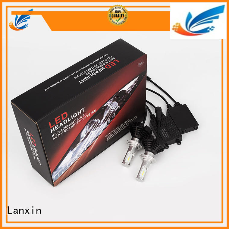 Lanxin unique h4 headlight factory for auto led lighting