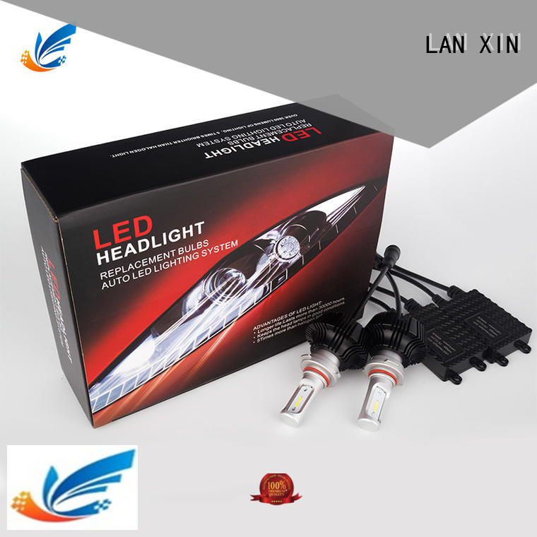 Lanxin intelligent cree led headlights for jeep