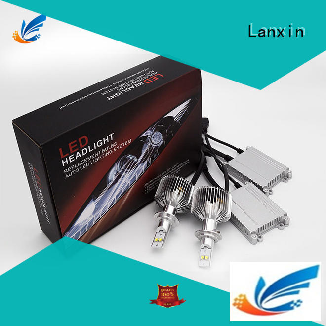 Lanxin best h7 headlight bulb with good price for auto led lighting