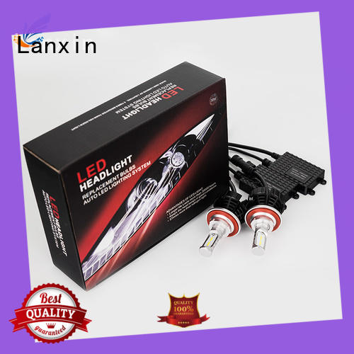 Lanxin no fan truck headlights factory for auto led lights