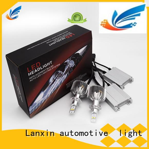 Lanxin automotive light E4 Standard design aftermarket led headlights with good price for led lighting