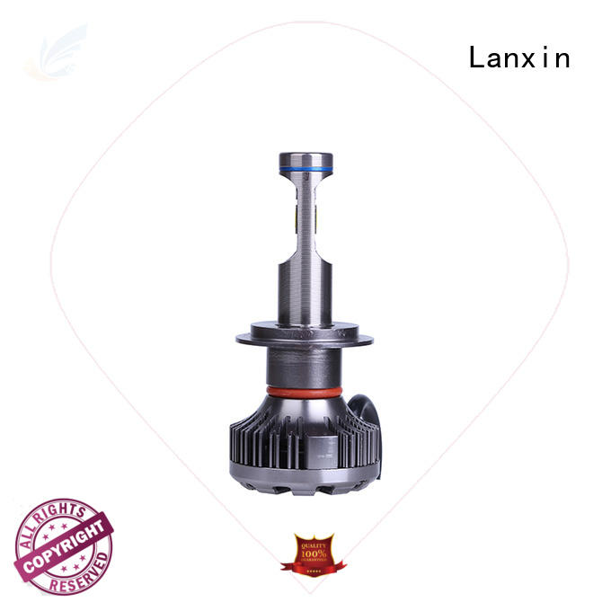 Lanxin energy saving best headlight bulbs factory price for auto led lights