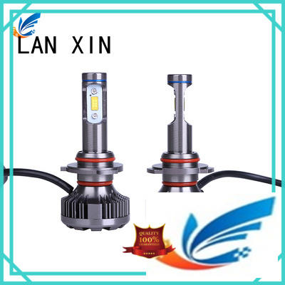 Lanxin automotive light certificated led projector headlights factory price for auto led lights