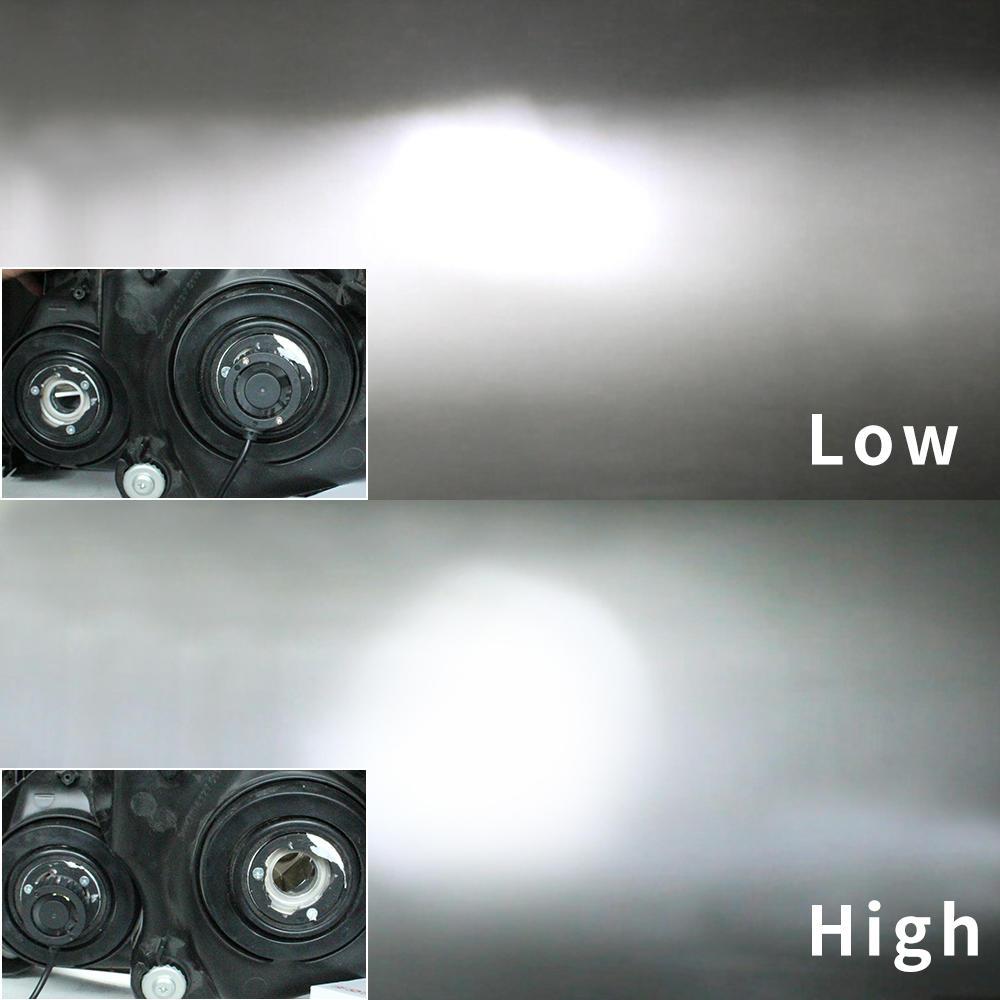 automotive led headlight H1 H3 H4 H7 9004 9007 H13